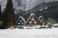 Shirakawa village one of famous place or sightseeing spot for tourist and photographer in shirakawago beautiful in every season Stock Images