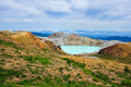 Shirane crater lake gunma japan Royalty Free Stock Image