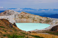 Shirane crater lake gunma japan Stock Photography