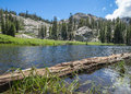 Shirley Lake, California Royalty Free Stock Photo