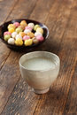 Shirozake(japanese sweet white rice wine) Stock Photography