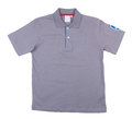 Shirt mens polo shirt on a background Royalty Free Stock Image