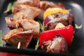 Shish kebabs Royalty Free Stock Images