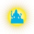 Shiva - The Indian God Stock Image