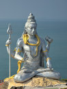 Shiva statue Royalty Free Stock Photo