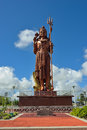 Shiva statue mauritius may at grand bassin temple most important hindu temples of mauritius shown on may it is meters tall and is Stock Photos