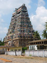 Shiva temple chidambaram tamil nadu india the great is dedicated to lord in his form of the cosmic dancer it is said to be the Stock Image