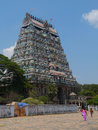 Shiva temple chidambaram tamil nadu india the great is dedicated to lord in his form of the cosmic dancer it is said to be the Stock Photo