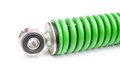 Shock absorber, isolated Royalty Free Stock Photo