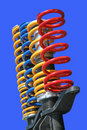 Shock-absorbers Stock Image