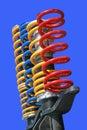 Shock-absorbers Stock Image
