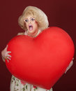 Shocked Drag Queen Royalty Free Stock Photo