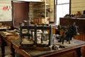 Shoe maker workshop