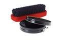 Shoe Polish and Brush Royalty Free Stock Photo
