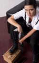 Shoe Shine Stock Photos