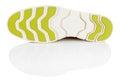 Shoe sole isolated on white