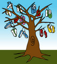 Shoe Tree Stock Photos