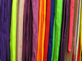 Shoelaces all colors Stock Images