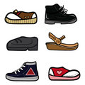 Shoes collection Royalty Free Stock Photos