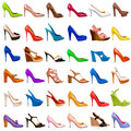 Shoes collection-6 Stock Photos