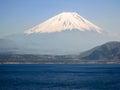 Shoji Lake, Mount Fuji, Yamanashi prefecture, Japan Royalty Free Stock Photo
