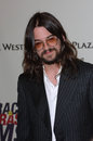 Shooter jennings country music singer at the th annual race to erase ms gala themed rock royalty to erase ms at the century plaza Royalty Free Stock Photography