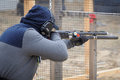 """Shooting competition """"shooting masters in dnipro city ukraine april ukraine Stock Images"""