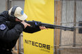 """Shooting competition """"shooting masters in dnipro city ukraine april ukraine Royalty Free Stock Images"""