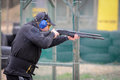 """Shooting competition """"shooting masters in dnipro city ukraine april ukraine Stock Photo"""