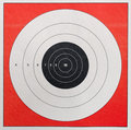 Shooting Practice Target Royalty Free Stock Photos