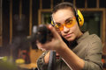 Shooting range. Royalty Free Stock Photo