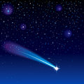 Shooting Star Royalty Free Stock Photos