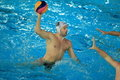 Shooting Viktor Margita - water polo Stock Images