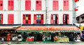 Shop in chinatown street neighbourhood of singapore Royalty Free Stock Photography