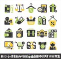 Shop icons Stock Images