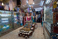 Shop in the Medina of Tunis Royalty Free Stock Images