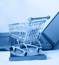 Shop Online Stock Photography
