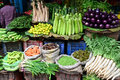 A shop selling vegetables in india Royalty Free Stock Images