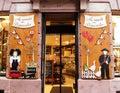 Shop window in Alsace