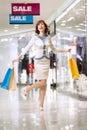 Shopaholic Royalty Free Stock Image