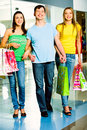 Shopaholics Royalty Free Stock Photos