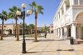 Shoping street El Mercato in Sharm-El-Sheikh Stock Photo
