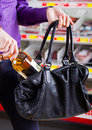 Shoplifting Royalty Free Stock Image