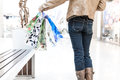 Shopper woman Royalty Free Stock Photo