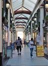 The Shopping Arcade, Bristol, UK Royalty Free Stock Photo