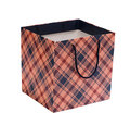 Shopping bag gift bag isolated on white Royalty Free Stock Photography