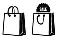 Shopping bag icon Royalty Free Stock Photo