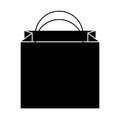 Shopping bag isometric icon