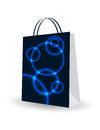 Shopping bag with special plasma design Royalty Free Stock Image