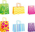 Shopping bags with different p Royalty Free Stock Photo